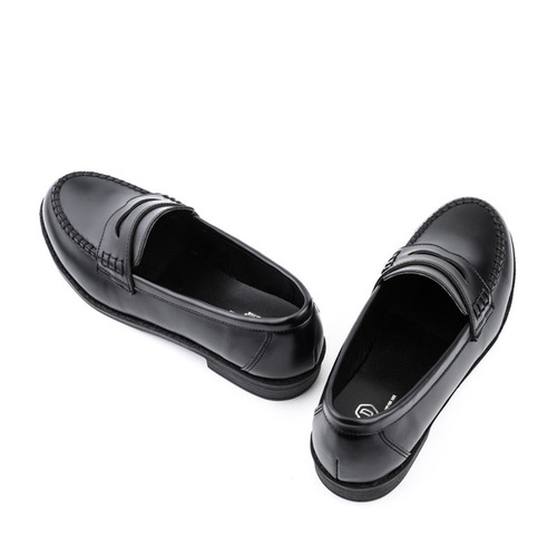 돔바 모던 로퍼 (DOMBA MODERN LOAFER (BLACK)) [W-3411]