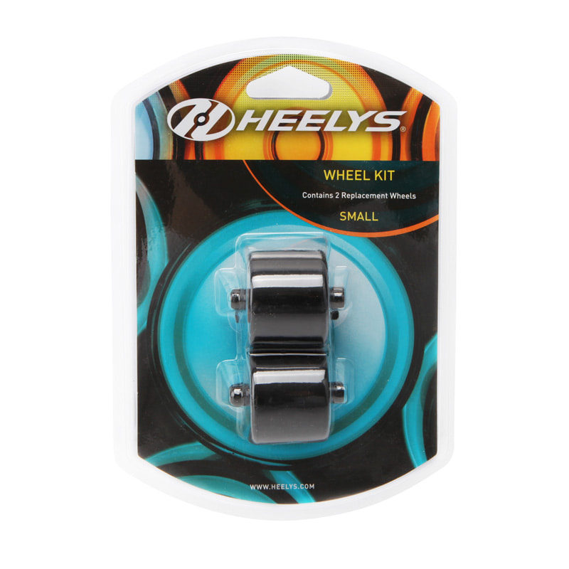 힐리스 바퀴 (HEELYS 2PK REPLACE WHEEL KIT (BLACK)) [779000X]