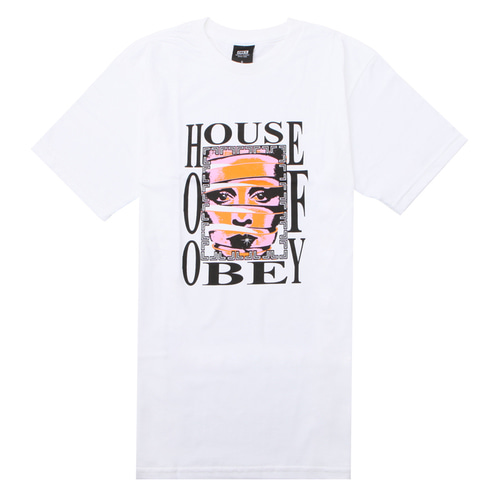 [오베이] OBEY HOUSE OF OBEY (WHITE) [163081726-WHT]