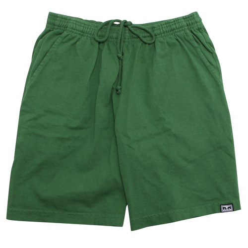 [오베이] OBEY HEAVYWEIGHT EYES SPORTS SHORT (VINTAGE GREEN) [172120036-VGR]